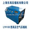 提供LYV100型潜水呼吸高压空气压缩机